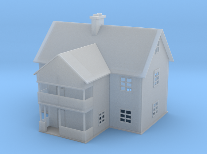 Emadalen Water tower House Z scale
