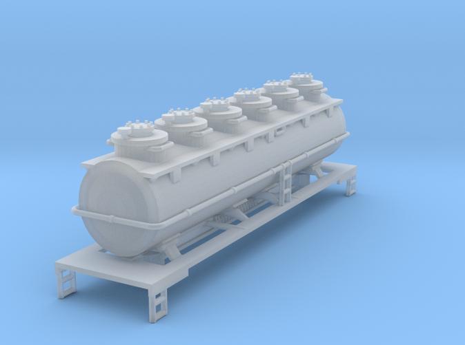 6 Dome wine Tank Car Z scale