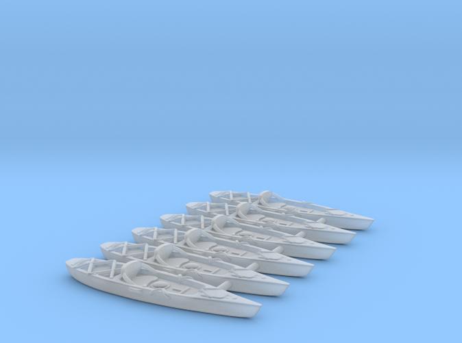 Marine Kayak in scale 1:87. FUD