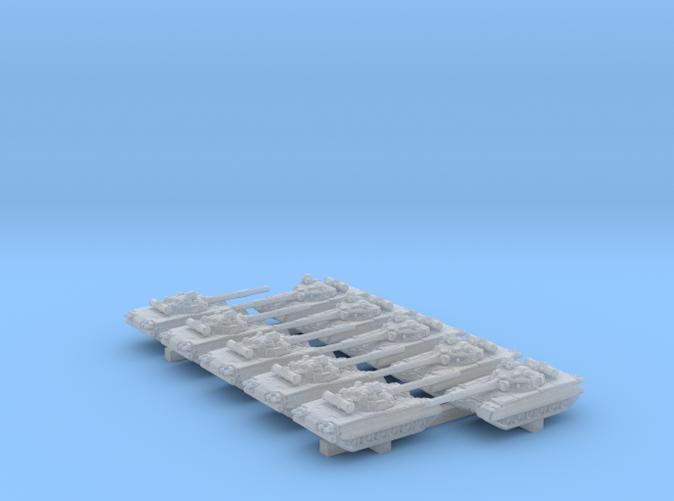 1/600 Russian T-80 Main Battle Tanks x10