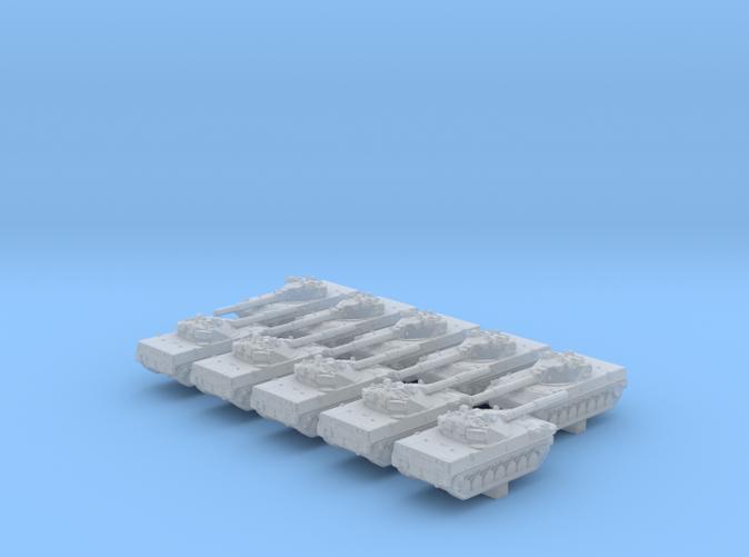 1/600 Russian 2S25 Sprut-SD Self-Propelled Tank Destroyer x10