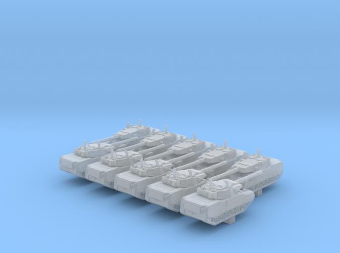 1/600 US Stingray II Light Tank x10