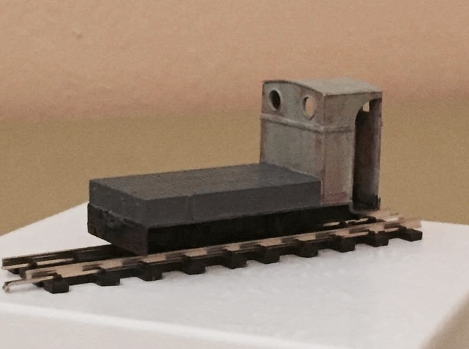 4mm scale 009 H0e gauge penrhyn locomotive couplings