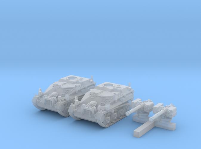 1/285 (6mm) German Wiesel 1 TOW AFV x2