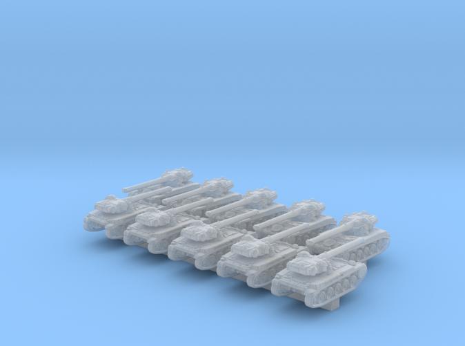 1/600 French AMX 13 90 Light Tank x10