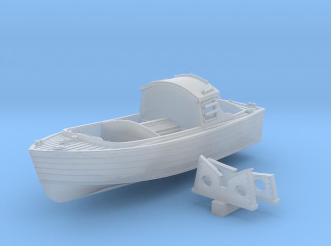 1/128 Royal Navy 16ft Fast Motor Boat