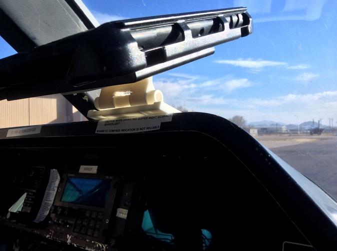 On an Agusta 109