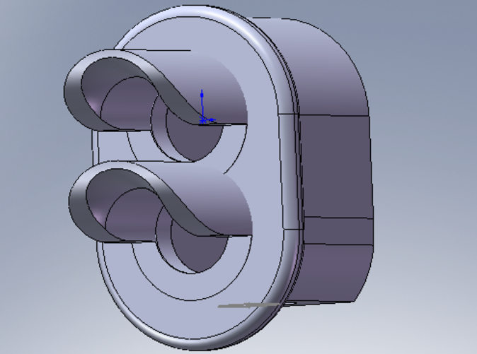 CAD image of call-on signal head