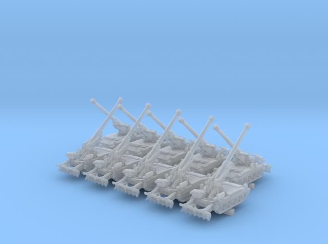 1/600 US M110A2 Howitzer Artillery 40º x10