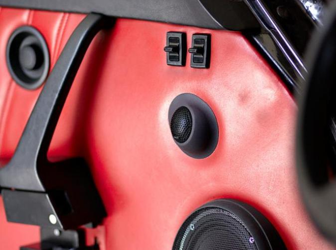 Custom tweeter pod for Hertz Space One tweeter