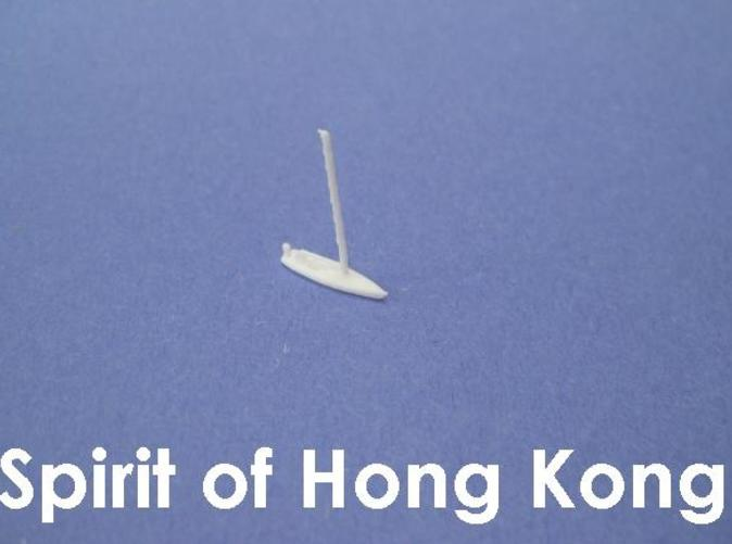 1:1200 scale model of the Spirit of Hong Kong