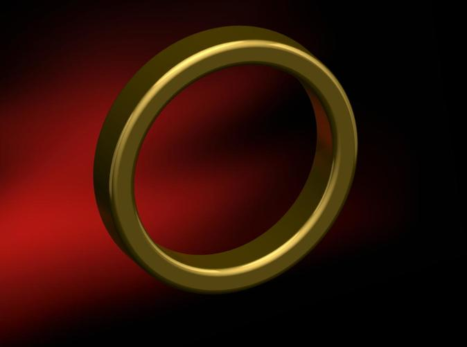 Photo Render, Size 5 Standard Ring