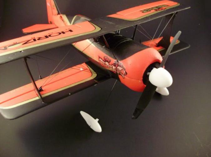 The Beast shown here with the Wheel Pants and Spinner. (Plane and Spinner Not Included)