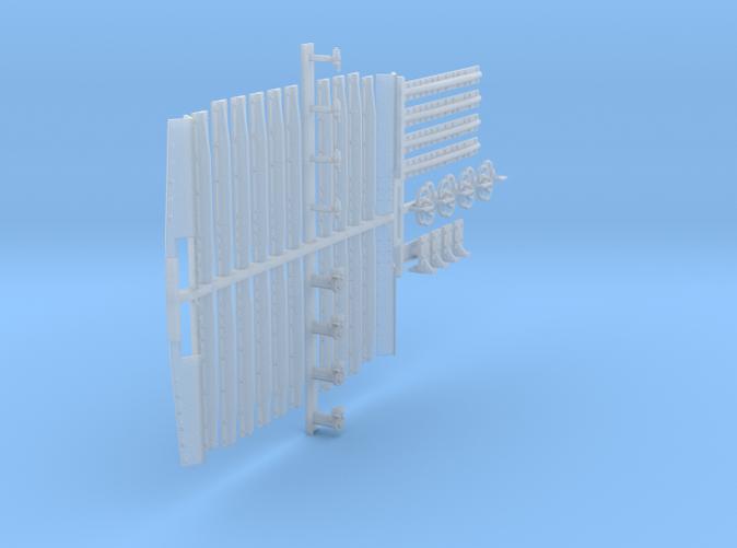 B&O O-48 Gondola Project Prototype Style Part Print Option (pjv1-0c)