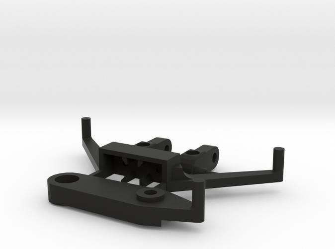 Black Strong & Flexible nylon plastic