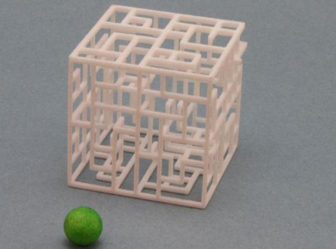 6x6x6 Maze with Ball