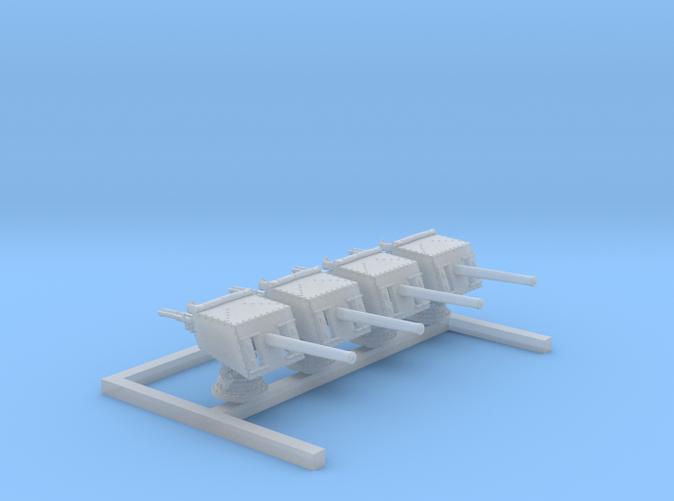 """1/350 V & W Class 4""""/45 (10.2 cm) MKV CPII Guns x4"""