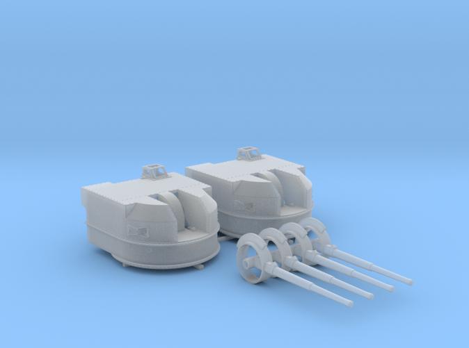 "1/144 Battle Class 4.5""/45 QF MKIV RP10 Gun x2"