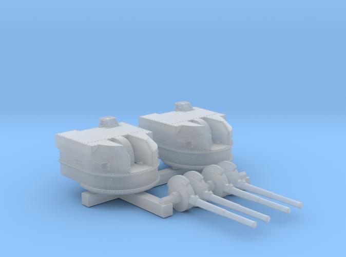"1/700 Battle Class 4.5""/45 QF MKIV RP10 Gun x2"