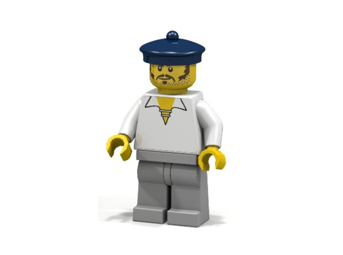 British Sailor (Render of an example Usage)
