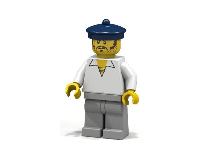 British Sailor (Render of an example Usage)