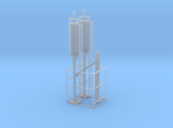 Sanding towers N scale