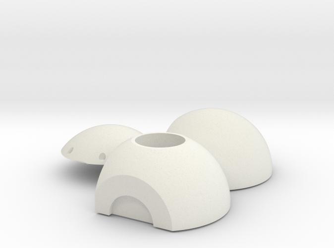 1/12 Scale Optronic Ball Head for Litening III Targeting Pod