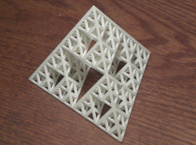 Sierpinski tetrahedron, level 4