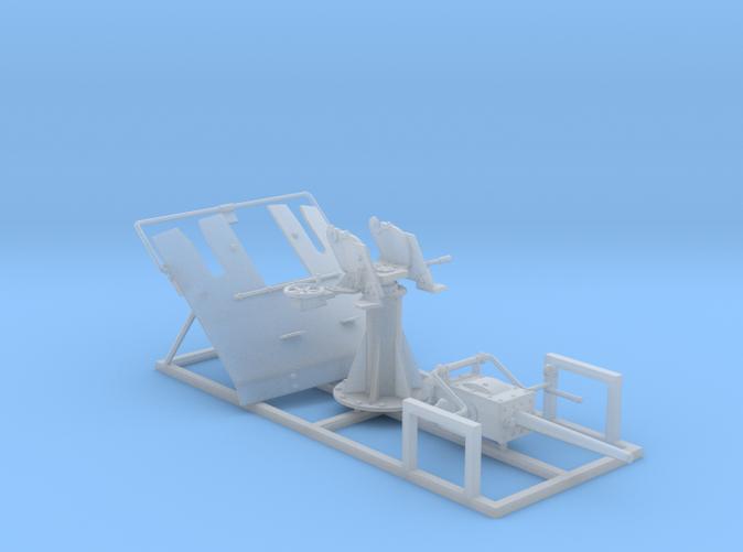 """1/72 3-pdr 1.85""""/40 (47 mm) MKV Mounting"""