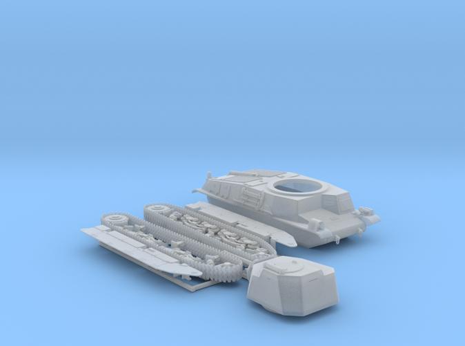 1/87 SARL 42 Tank (FCM 3 Man Turret 47mm SA37 Gun)