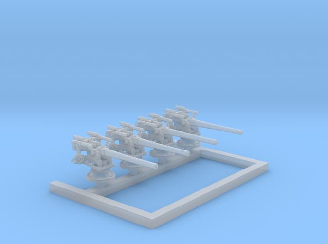 "1/350 German 8.8 cm/45 (3.46"") SK L/45 Guns x4"