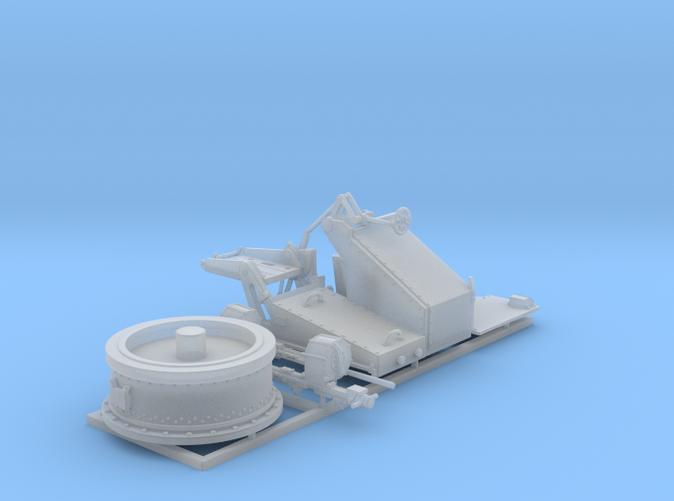1/72 Twin 20mm Oerlikon Powered MKV Mount