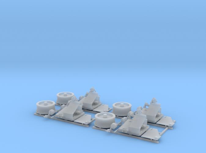 1/96 Twin 20mm Oerlikon MKV Mount 25º x4