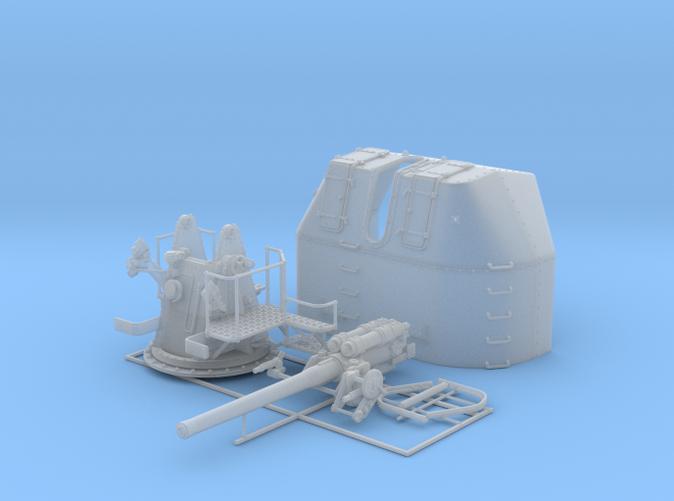 "1/56 RN 4"" MKV P Class Gun A/Y Mount Closed Ports"