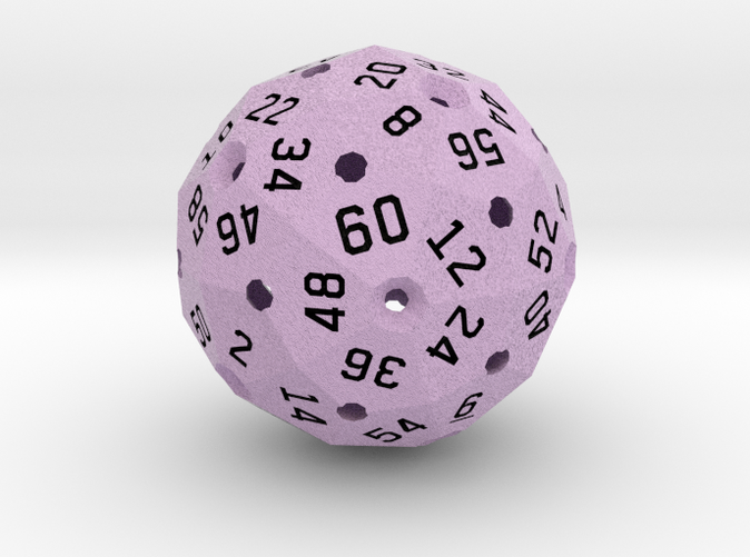 Computer render in full color, showing the light purple.