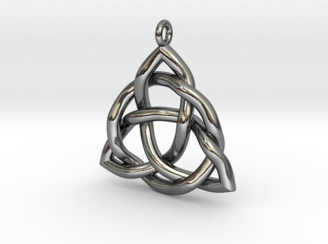 triquetra pendant or trinity knot pendant lt7cvy5j4 by