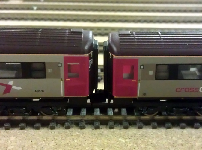 Graham Fairish HST Coaches With New Couplings