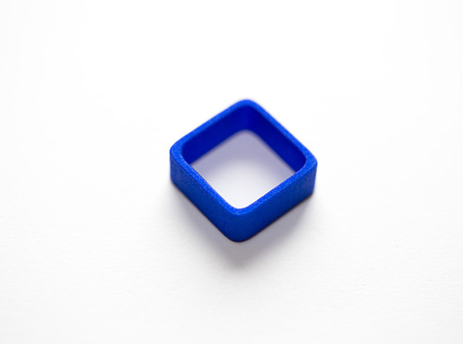 The Poly4 Ring in Blue Strong & Flexible