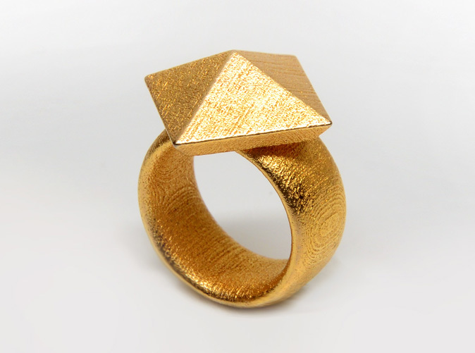 Gold Plated Glossy