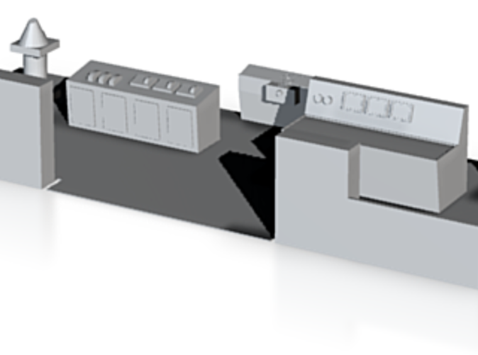 Detailed bridge unit for Free Enterprise V / Pride of Hythe model by Linkspan Models