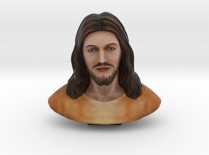 Jesus Christ - Shapeways Color Sandstone Render