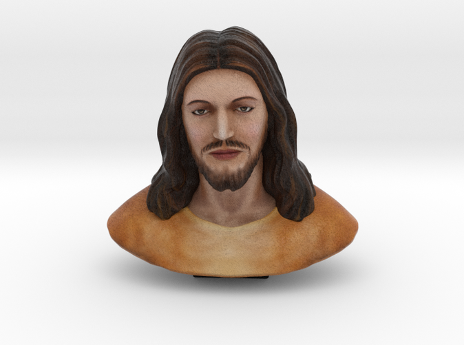 jesus christ sandstone render