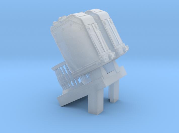 1/18 SPM-18-010 LBT MK48 Box Mag 3d printed