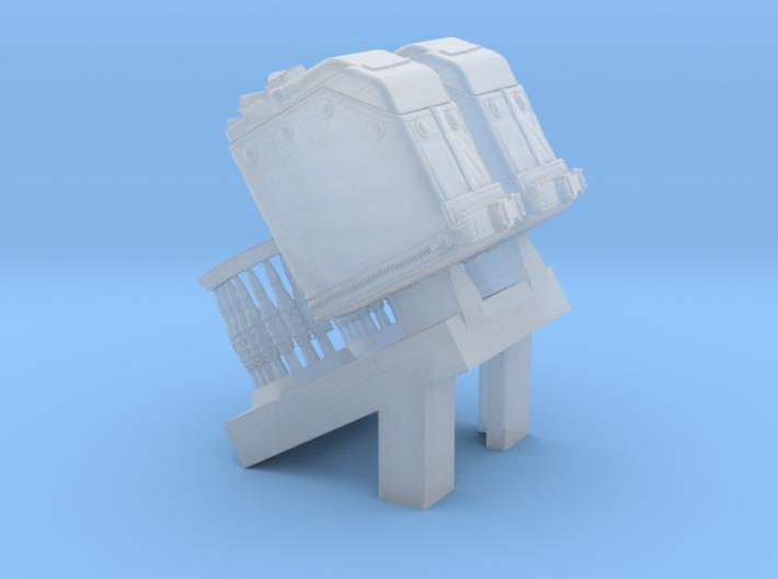 1/24 SPM-24-015 LBT MK48 Box Mag (middle) 3d printed