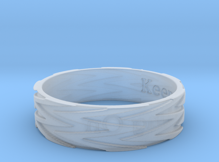 •hold on• Ring Size 7 3d printed