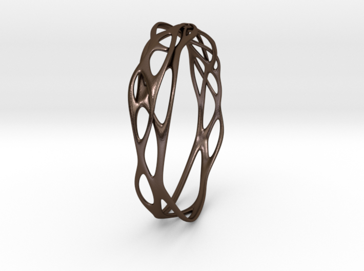 Incredible Minimalist Bracelet #coolest (S) 3d printed