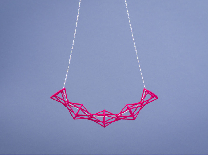 Space Necklace #02 3d printed