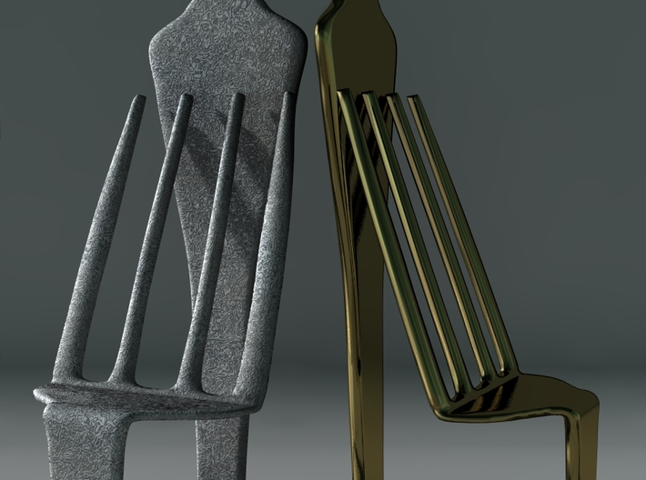 Chair No. 34 3d printed