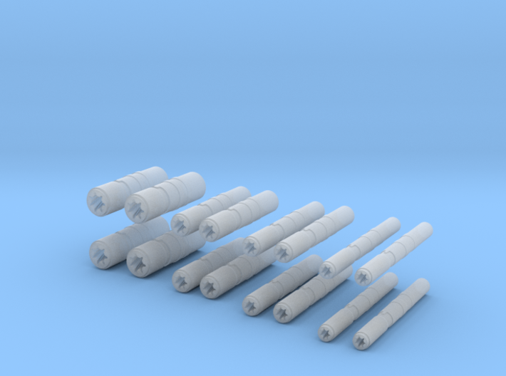 Cannons 2.1 3d printed