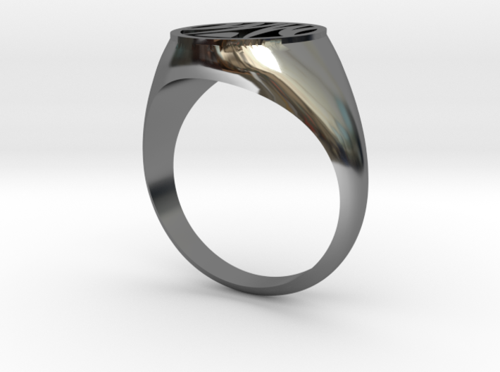 Misfit Ring Size 11.5 3d printed